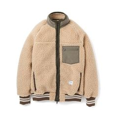 BEDWIN / ベドウィン|BOA FLEECE JKT「ESTEVEZ」 - Beige | 通販 - 正規取扱店 | COLLECT STORE / コレクトストア Fashion Outfits, Mens Fashion, Outdoor Outfit, Sport Wear, Historical Clothing, Fashion Killa, Stylish Men, Street Wear, Menswear