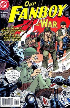 Uncertified DC Modern Age Comics Not Signed Ultra Boys, Joe Kubert, American Comics, Book Publishing, 5sos, Dc Comics, Vines, Comic Books, War
