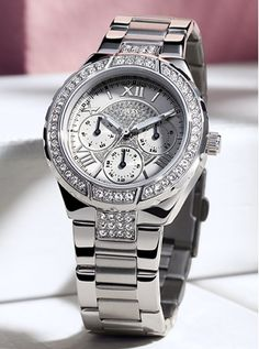 Look of Love   GUESS Watches  #pinlovewithguesswatches  W0111L1/U0111L1