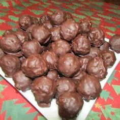 Chocolate Rice Krispie Balls