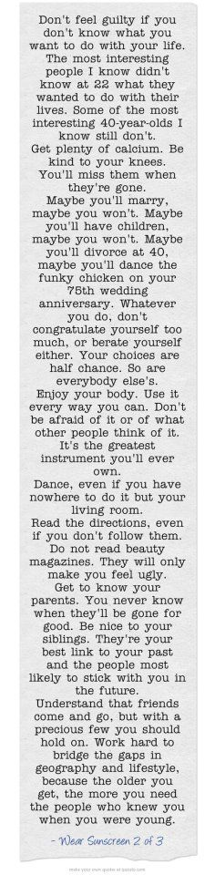 couldn't have said it better, life is simple if you focus on the right things. I want to memorize this so bad.