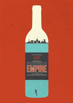 Vintage-Inspired Posters for Your Favorite TV Shows