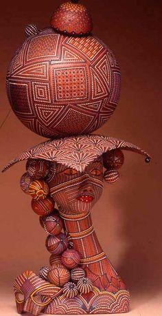 Ceramics, Ricky Maldonado, Artist, Alien Mardi Gras