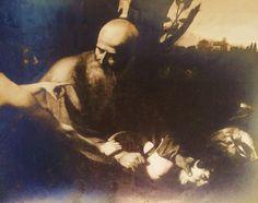 Fotografia del 1917, del Caravaggio allora appartenente al signor Murray.