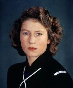 Queen Elizabeth II (1926-living2013).  Those blue eyes are a stand out.