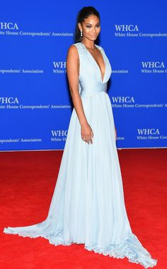 95b711eaa Chanel Iman from 2015 White House Correspondents  Dinner  Star Sightings