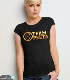 """Team Peeta"" Hunger Games T-Shirt 