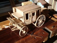 concord Stage Coach in progress - The Scale Model Horse Drawn Vehicle Forum