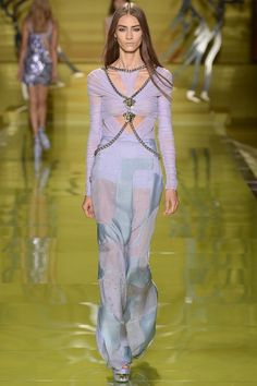 #MFW - Runway - #Versace Spring 2014 Ready-to-Wear Collection