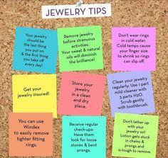 Jewelry tips!