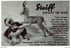 Original-Werbung/ Anzeige 1962 - STEIFF - KNOPF IM OHR / GIENGEN AN DER BRENZ - Ca. 100 X 65 Mm - Werbung