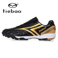 bfd434ee5b9c TIEBAO Professional Children Kids Teenagers TF Turf Sole Football Boots  Sneakers Breathable Training Shoes Outdoor Soccer