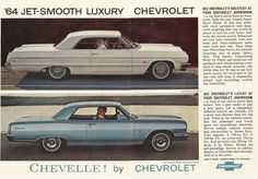 1964 chevrolet chevelle | 1964 Chevy Chevelle Vintage Ad