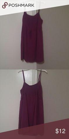 Old Navy sundress Purple sundress.  Worn 4 times.  Great condition. Old Navy Dresses Midi