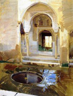 Joaquin Sorolla y Bastida - La Alhambra,1909