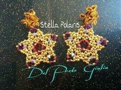 DIY Tutorial Orecchini Stella Polaris | MissGiuliaa❤ | raw - YouTube