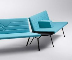 raisedbymyths:  'Linea' seating by  Luca Nichetto for Offecct