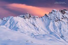 Denti di Terrarossa - The Denti di Terrarossa peaks at sunset; The Dolomites, region Trentino-Alto Adige. Italy ©www.albertoperer.com