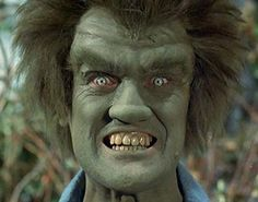 Dick Durock as Frye's Creature from the two part episode THE FIRST. This was meant to be an older Hulk, who was transformed many years before David Banner first became the Hulk. Red She Hulk, Red Hulk, Sci Fi Tv Series, Sci Fi Tv Shows, Fantasy Fiction, Fantasy Movies, The Incredible Hulk 1978, Hulk Art, Love Memes Funny