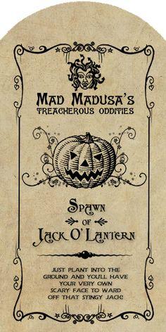Spawn of Jack o' Lantern