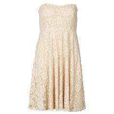 Kleid mit Spitze - Vila