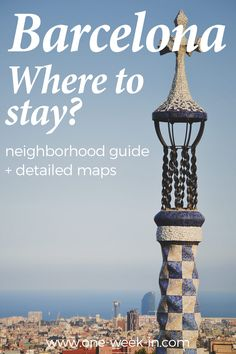 What is the best location to stay in Barcelona? This is a question we always receive. Therefore, we created this guide on where to stay in Barcelona. It includes the best areas for the first time visitor, families and couples.
