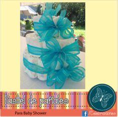 Pastel De Pañales · Baby ShowersDiaper ...