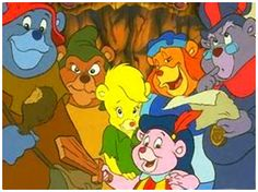 gummibears - my favourite show on a saturday morning when I was a kid!