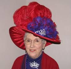 a05a1530 62 Best Red Hat Society Wild Outfits images   Red hats, Red hat ...