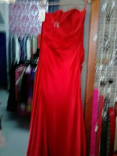 Siren Red Sensual Cocktail Dress- Size 8- 50 dollars