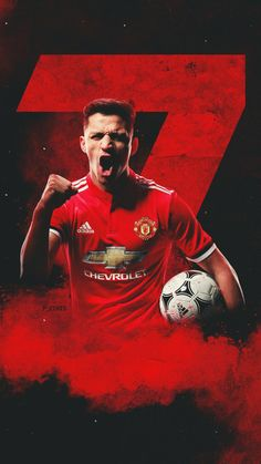 Italy Serie A teams Inter, Manchester United for the transfer of Chilean star Alexis Sanchez reached. I Love Manchester, Manchester United Wallpaper, Manchester United Players, Alexis Sanchez Manchester United, Sports Graphic Design, Fc Chelsea, Premier League Champions