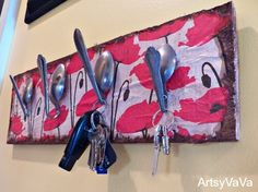 Artsy VaVa: Spoon Key Holder