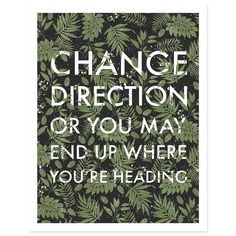 """""""Change Direction"""" print by Kadi Koroma for Worker Bee Supply Co."""