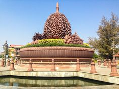 Things to Do in Kampot: A Detailed Guide to Our Favourite Town in Cambodia Kampot, Us Travel, Travel Guide, Destinations, The Good Place, Taj Mahal, Things To Do, Statue, Building
