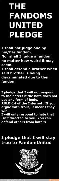 I changed the description so people would stop fighting. I didn't write the previous one so I have nothing against any fandom. ALL UNITE!!!