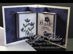 How To Create a Pop Up Book Card with Deb Valder | Stampladee.com