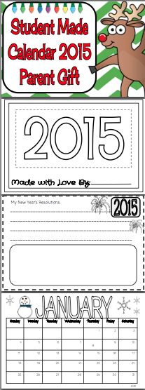 This is the perfect time to get started on a Christmas Gift for the parents of your students!