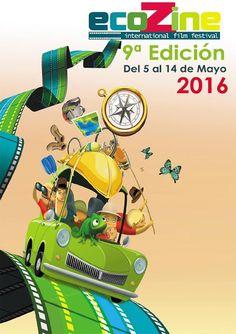 Cartel Finalista 9ª edicion  Ecozine 2016 Titulo: Contest Natura Autor: Javier Marinas Garcia