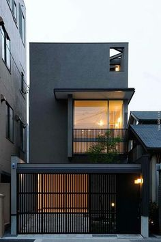 Modern Black House Exterior Design Ideas For Your Inspiration is part of exterior Design Architecture - Any project can't get the comprehensive beauty without proper care in the interior and exterior Therefore, the owners should not […] Modern Fence Design, Modern House Design, Simple House Design, Japan House Design, House Fence Design, Garage Door Design, Minimalist House Design, Minimalist Home, Black House Exterior