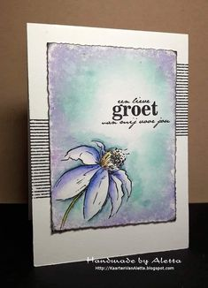 Distress Ink, Simply Beautiful, Color Combos, Different Colors, Stampin Up, Watercolor, My Love, Cards, Craft Ideas