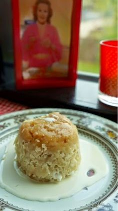 Fanny Cradock Steamed Coconut and Maple Syrup Suet Pudding