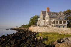 Alterations and Additions to an Early 20th Century Stone Estate House   John B. Murray Architect