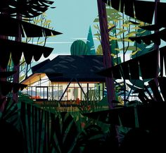 cruschiform-architectural-illustration-2French illustrator and graphic designer Marie-laure Cruschi, Paris based creative studio in 2007 with the hope to continuously experiment and explore new areas. We discovered her work when she illustrated and did the cover of 'Cabins', one of our favorite book from last year. Her art grows from basic forms with the objective to explore various areas from geometric characters/creatures, to playful data informative graphics, + modular typography