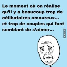 Célibataires vs Couples – Québec Meme +