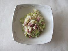 Risotto moutardé au dés de jambon et au chou chinois : Diet & Délices - Recettes dietétiques