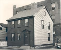 The Gideon Cornell House (ca. 1765) was purchased by the NRF in 1969 and restored in 1970. A south addition was removed & the home was restored to its 18th-century footprint.