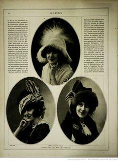 Les Modes : revue mensuelle illustrée des Arts décoratifs appliqués à la femme   1912-01   Gallica