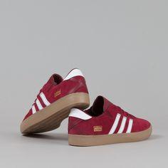 Adidas Gonz Pro Shoes - Burgundy   White   Gum b9f650fb5