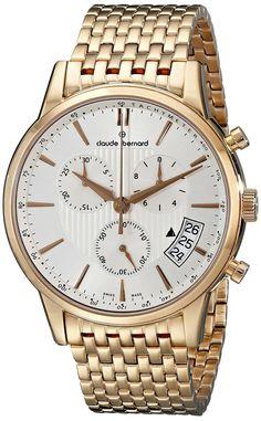 aff0136681d9 Gold watches   Gold watches men claude bernard Relojes De Oro