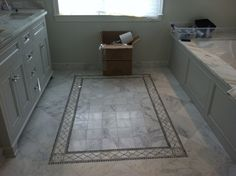 Tile rug - for the bath remodels in my future :)
